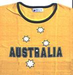 Aussie Gold White Star T-Shirt