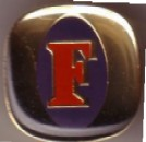 Fosters Gold Square Pin