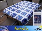Australian Flag Plastic Tablecloth