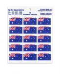 Aussie Flag Stickers