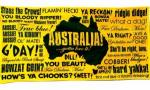Aussie Slang Beach Towel