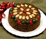 2.5 lb. Christmas Fruit Cake w/ FREE UPS Ground Shipping in