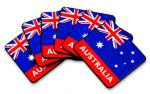 Aussie Flag Coasters