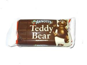 Arnott's CHOCOLATE COATED Teddy Bear