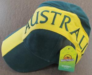 Australia Green & Gold Cap