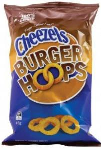 Cheezels BURGER HOOPS