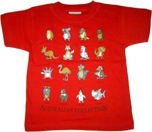 Kids Australian Collection T-Shirt