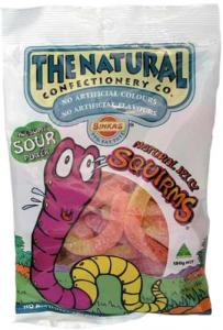 Natural Jelly Sour Squirms