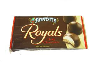 Arnott's Royals DARK Chocolate