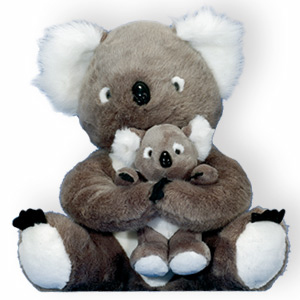 Stuffed Toy Mum & Me KOALA 20