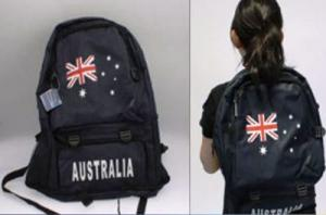 Aussie Flag Backpack