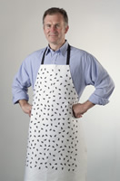 Fly Art Apron / Ironing Board Cover