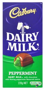 Cadbury Dairy Milk Peppermint BLOCK