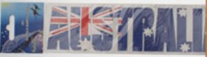 Australia Flag Bumper Sticker - 2-Pack