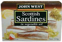 John West Scottish Sardines