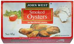John West Smoked Oysters