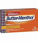 Nestle Soothers Butter-Menthol