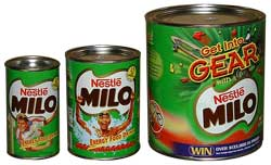 Nestle's MILO Chocolate Energy Drink