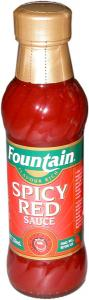 Fountains Spicy Red Sauce - Gluten Free