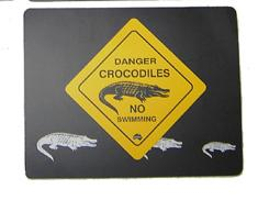 Road Sign Mousepads
