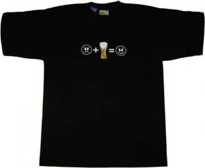 Beer = Smile T-Shirt