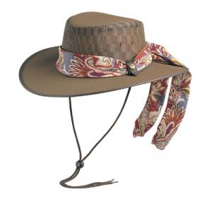 BC Hats - Cool As A Breeze w/Scarf w/ FREE Shipping in US