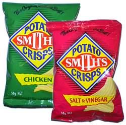 smiths potato crisps chips simplyozcom simply